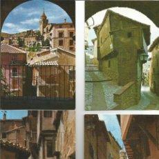 Postales: ALBARRACIN(TERUEL).LOTE DEN 15 POSTALES DIFERENTES,NUEVAS SIN USAR,. Lote 194990005
