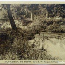 Postales: MONASTERIO DE PIEDRA . Lote 195011715