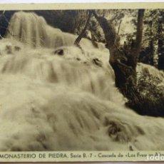 Postales: MONASTERIO DE PIEDRA . Lote 195011928