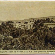 Postales: MONASTERIO DE PIEDRA . Lote 195011955
