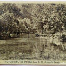 Postales: MONASTERIO DE PIEDRA . Lote 195011986