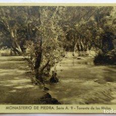 Postales: MONASTERIO DE PIEDRA . Lote 195012015