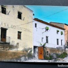 Postales: POSTAL DE BINACED / AYUNTAMIENTO / COLOREADA / RAYMOND Nº 2 - AÑOS 60 / HUESCA / MONZON / BINEFAR. Lote 195061692