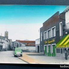 Postales: POSTAL DE BINACED / AVENIDA / COLOREADA / RAYMOND Nº 7 - AÑOS 60 / HUESCA / MONZON / BINEFAR. Lote 195061696
