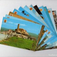 Postales: SANTUARIO DE TORRECIUDAD, HUESCA · LOTE DE 12 POSTALES AÑOS 70 -EDICIONES SICILIA-. Lote 195091745