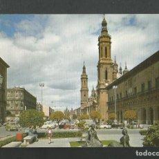 Postales: POSTAL SIN CIRCULAR - ZARAGOZA 6 - PLAZA DE LAS CATEDRALES - EDITA SICILIA. Lote 195095033