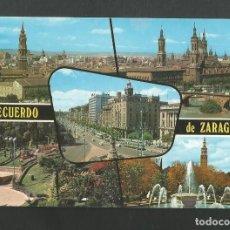 Postales: POSTAL SIN CIRCULAR - ZARAGOZA 209 - BELLEZAS DE LA CIUDAD - EDITA COMERCIAL G.F. Lote 195095091