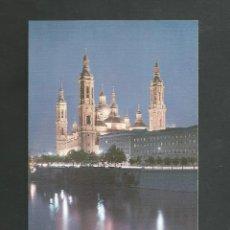 Postales: POSTAL SIN CIRCULAR - ZARAGOZA 59 - TEMPLO DEL PILAR - EDITA SICILIA. Lote 195095220