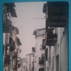 Postales: AGUAVIAVA VISTA CALLE ANIMADA POSTAL FOTOGRAFÍCA TERUEL. Lote 195116520