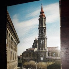 Postales: Nº 36117 POSTAL ZARAGOZA CATEDRAL DE LA SEO. Lote 195199740
