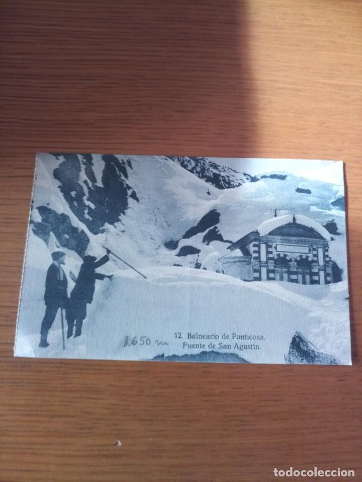 POSTAL BALNEARIO PANTICOSA (Postales - España - Aragón Antigua (hasta 1939))
