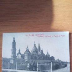 Postales: POSTAL ZARAGOZA PUENTE DE PIEDRA. Lote 195211595