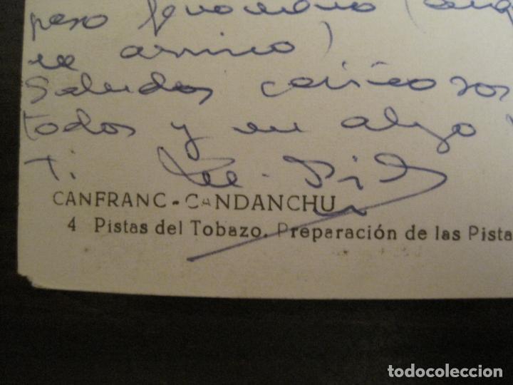 Postales: CANFRANC-CANDANCHU-PISTAS DEL TOBAZO-ED·SICILIA-4-POSTAL ANTIGUA-(68.137) - Foto 4 - 195227000