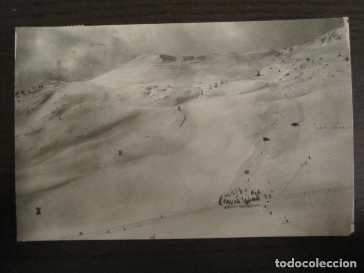 CANFRANC-CANDANCHU-PISTAS DEL TOBAZO-ED·SICILIA-4-POSTAL ANTIGUA-(68.137) (Postales - España - Aragón Antigua (hasta 1939))
