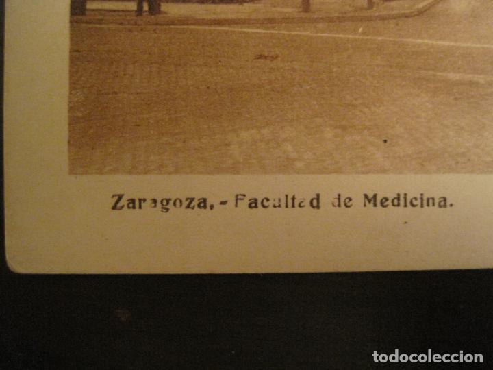 Postales: ZARAGOZA-FACULTAD DE MEDICINA-PUBLICIDAD INSTITUTO BIOLOGIA IBYS-POSTAL ANTIGUA-(68.142) - Foto 3 - 195227591