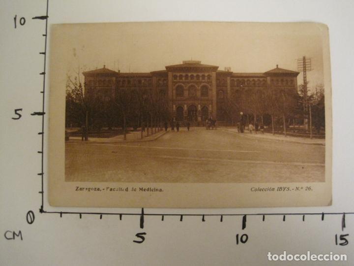 Postales: ZARAGOZA-FACULTAD DE MEDICINA-PUBLICIDAD INSTITUTO BIOLOGIA IBYS-POSTAL ANTIGUA-(68.142) - Foto 6 - 195227591