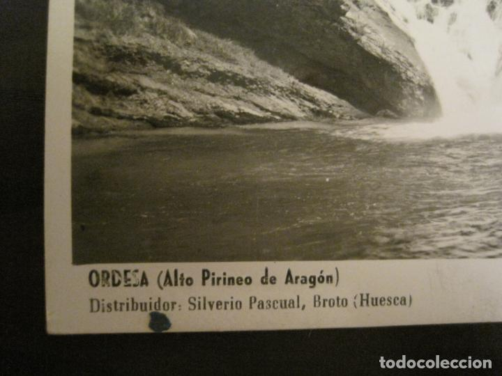 Postales: ORDESA-LA TAMBORRONERA-FOTOGRAFICA ZERKOWITZ-POSTAL ANTIGUA-(68.144) - Foto 3 - 195227856