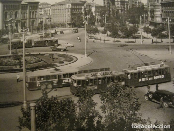 Postales: ZARAGOZA-PLAZA DE D.BASILIO PARAISO-GARCIA GARRABELLA-326-POSTAL ANTIGUA-(68.145) - Foto 2 - 195228075