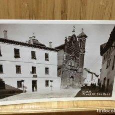 Postales: POSTAL DE HIJAR.PLAZA DE SAN BLAS.. Lote 195241542