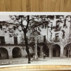 Postales: POSTAL DE HIJAR.PLAZA DE LA REPUBLICA.. Lote 195241885