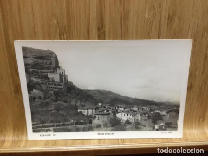 POSTAL DE GRAUS.EDICION SISO.VISTA GENERAL.15. (Postales - España - Aragón Antigua (hasta 1939))
