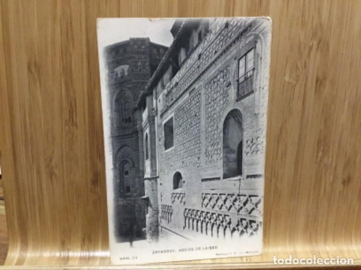 POSTAL DE ZARAGOZA.ABSIDE DE LA SEO.24 (Postales - España - Aragón Antigua (hasta 1939))