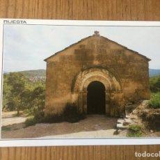 Postales: R8184 ANTIGUA POSTAL ERMITA DE SAN JACOBO S.X RUESTA ZARAGOZA EDICION DE LUJO SIN CIRCULAR . Lote 195318288