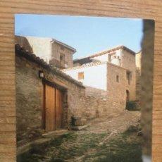 Postales: R8187 ANTIGUA POSTAL CALLE DEL PUEBLO DE RUESTA ZARAGOZA SIN CIRCULAR. Lote 195318577
