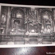 Postales: Nº 36355 POSTAL ZARAGOZA SANTA CAPILLA DE LA VIRGEN DEL PILAR. Lote 195322187