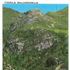 Postales: == B1482 - POSTAL - TORLA BUJARUELO - VISTA GENERAL Y RIO ARA. Lote 195353580