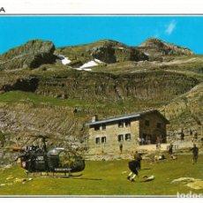 Postales: == B1484 - POSTAL - PARQUE NACIONAL DE ORDESA - REFUGIO DELGADO UBEDA . Lote 195353632