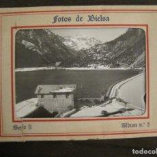 Postales: BIELSA-ALBUM CON 8 FOTOGRAFIAS-NO SON POSTALES-EDICIONES ISMAEL-VER FOTOS-(68.243). Lote 195502008