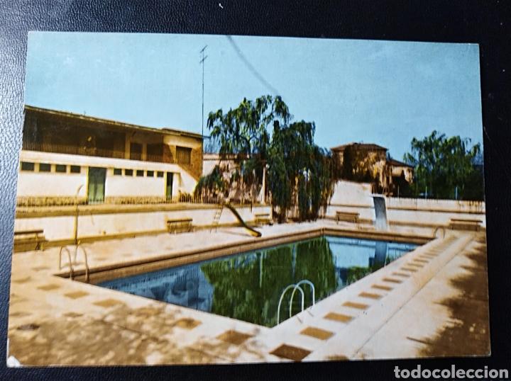 ESCATRON, ZARAGOZA, ARAGON, CLUB RECREATIVO, PISCINA (Postales - España - Aragón Moderna (desde 1.940))