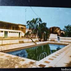 Postales: ESCATRON, ZARAGOZA, ARAGON, CLUB RECREATIVO, PISCINA. Lote 195492431