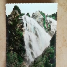 Postales: HUESCA PANTICOSA CASCADA. Lote 195513496