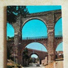 Postales: TERUEL ARCOS Y ACUEDUCTO 1972. Lote 195513696
