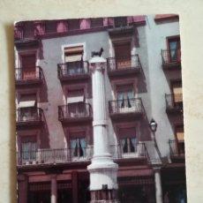 Postales: TERUEL PLAZA DEL TORICO 1962. Lote 195513800