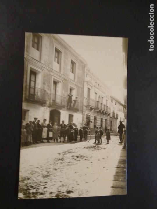 LA ALMUNIA. CALLE . ACABADO FOTOGRÁFICO. SIN CIRCULAR. (Postales - España - Aragón Antigua (hasta 1939))