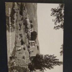Postales: BORJA SANTUARIO MISERICORDIA. TERMINACIÓN DE LA CUESTA. ACABADO FOTOGRÁFICO. SIN CIRCULAR.. Lote 196880847