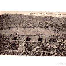 Postales: HUESCA.- CATALANA DE GAS Y ELECTRICIDAD S.A. OBRAS DEL SALTO DE EL RUN. BOCAS TUNELES DE LA TOMA.. Lote 197308720
