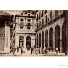 Postales: HUESCA.- PLAZA DEL MERCADO.. Lote 197422538