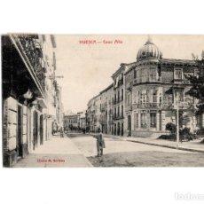 Postales: HUESCA.- CALLE COSO ALTO.. Lote 197423568