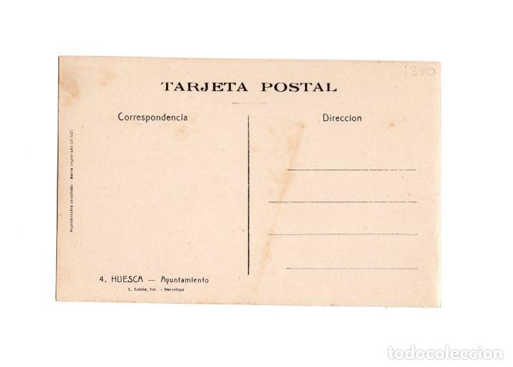 Postales: HUESCA.- AYUNTAMIENTO. - Foto 2 - 197479962