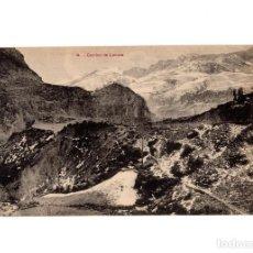 Postales: HUESCA.- VALLE DEL TENA. CAMINO DE LANUZA.. Lote 197591117
