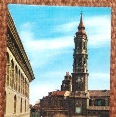 Cartes Postales: ZARAGOZA - CATEDRAL. Lote 197718521