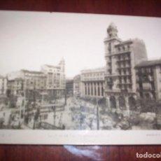 Postales: ZARAGOZA - PLAZA DE ESPAÑA. Lote 197919850