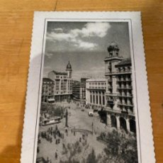Postales: ANTIGUA POSTAL ZARAGOZA VISTA PARCIAL PLAZA ESPAÑA 55 GARRABELLA . Lote 198492807