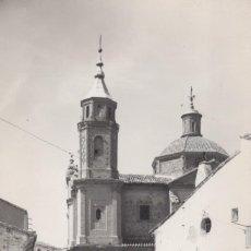 Postais: POSTAL AGUARON (ZARAGOZA) - VISTA PARCIAL DE LA IGLESIA Y CASA CONSISTORIAL. ED. MONTAÑES 6. Lote 198529373