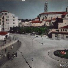 Postales: TARAZONA - PLAZA DE SAN FRANCISCO 32 SICILIA CIRCULADA. Lote 198603932