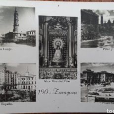 Postales: P-11224. POSTAL ZARAGOZA. MEDIADOS S.XX.. Lote 198779925